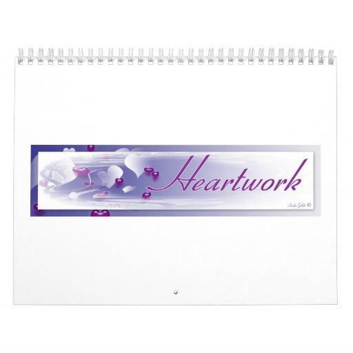 Heartwork calendario de 18 meses