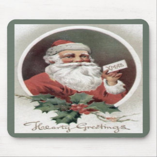 Hearty Christmas Mouse Pad