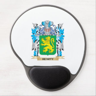 Hearty Coat of Arms - Family Crest Gel Mouse Pad
