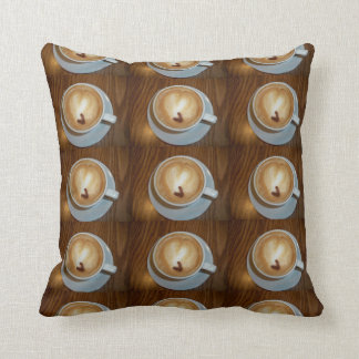 Hearty Coffee Throw Pillow