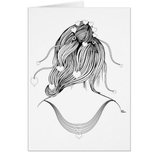 Hearty Coiffure Card