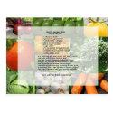 Hearty Garden Soup Recipe Post Cards