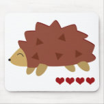 Hearty Hedgehog Mouse Pad