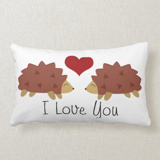 Hearty Hedgehog Pillow