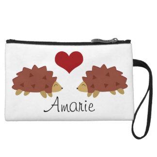 Hearty Hedgehog Wristlet Wallet