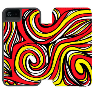 Hearty Powerful Flourishing Sympathetic iPhone SE/5/5s Wallet Case