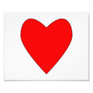 hearty red heart art photo