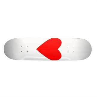 hearty red heart skate boards