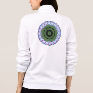Hearty Wheel Kaleidoscope Mandala Jackets