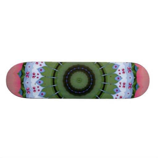 Hearty Wheel Kaleidoscope Mandala Skate Board Decks