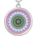 Heary Wheel Mandala Necklace