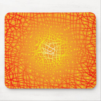Heat Background Mouse Pad