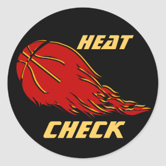 Heat Check Classic Round Sticker