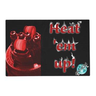 Heat 'em up! small coil building mat