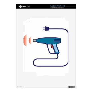 Heat Gun iPad 2 Skins