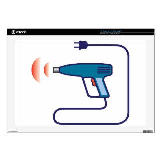 Heat Gun Laptop Decal