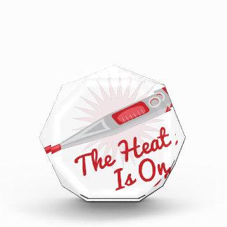 Heat Is On Acrylic Award