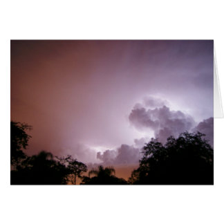 Heat Lightning Greeting Card