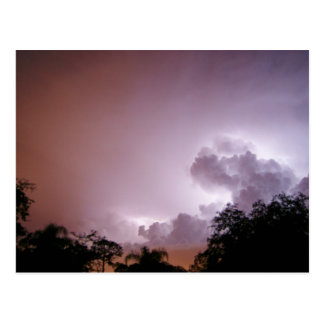 Heat Lightning Postcard