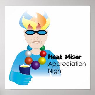 Heat Miser Appreciation Night Poster