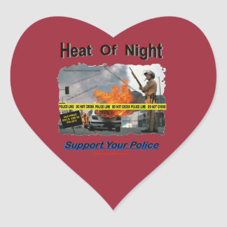 Heat_Of_Night Heart Sticker
