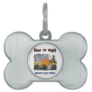 Heat_Of_Night Pet ID Tag