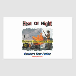 Heat_Of_Night Rectangular Sticker