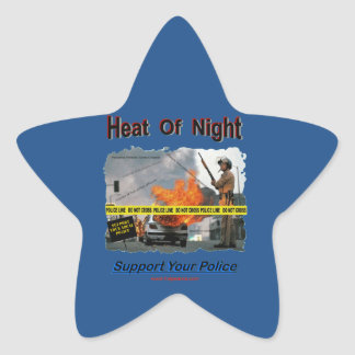 Heat_Of_Night Star Sticker