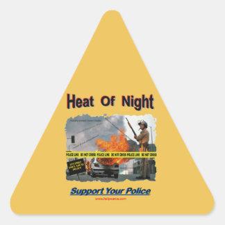 Heat_Of_Night Triangle Sticker