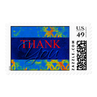 Heat Seeking Thank You Card Postage Stamps