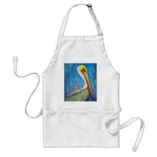 Heat Transfer Sticker Pelican Adult Apron