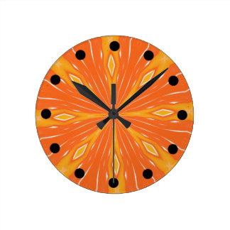 Heat Wave Clock