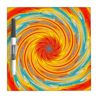 Heat Wave Dry Erase Whiteboard