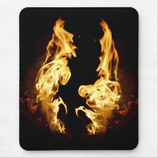 Heated Argument Mouse Pad
