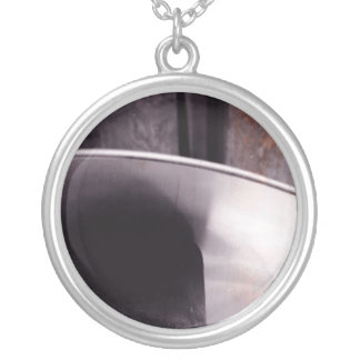 Heater Black and White necklace