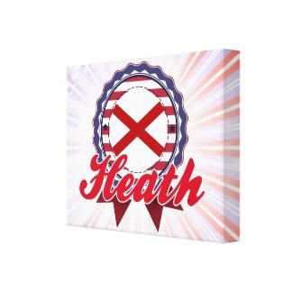 Heath, AL Gallery Wrapped Canvas