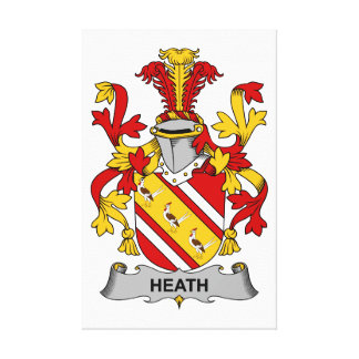 Heath Family Crest Gallery Wrapped Canvas