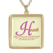 Heath Necklace