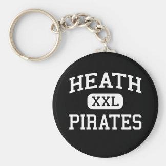 Heath - Pirates - High - West Paducah Kentucky Basic Round Button Keychain