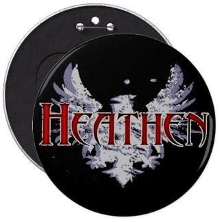 Heathen Pinback Button