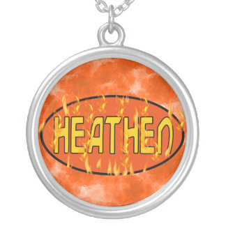 Heathen Silver Plated Necklace