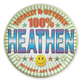 Heathen Totally Party Plate