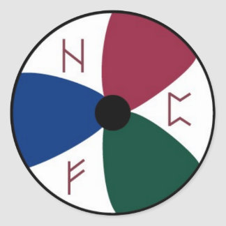Heathens For Progress Sticker