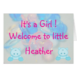 Heather Card