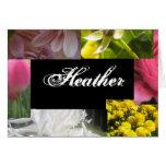 Heather Card