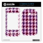 Heather Check Skin For The LG Optimus S