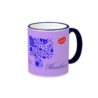 Heather Designer Name Mug