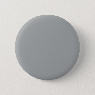 Heather Gray Solid Color Customize It Pinback Button
