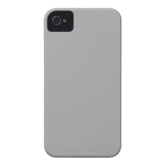 Heather Gray Solid Color Solid Color Case-Mate iPhone 4 Case
