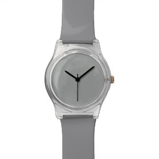 Heather Gray Solid Color Watches